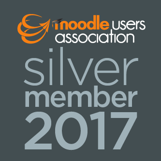 Moodle Association Silver Member Logo